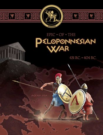 Epic of the Peloponnesian War box cover